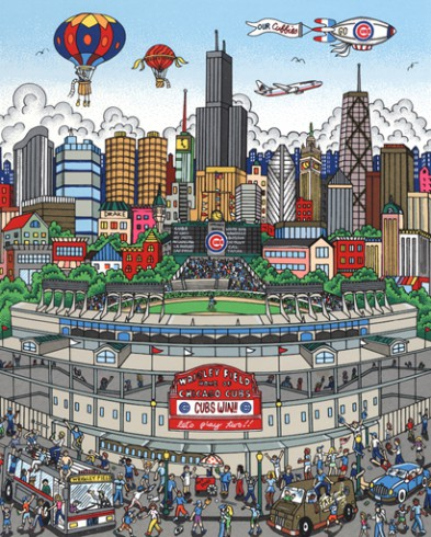 fazzino-sports-artwork-baseball-art-wrigley-field-cubs