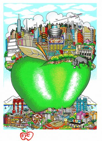 NYC Little Green Apple LR