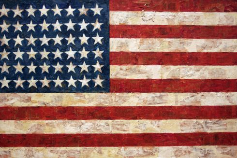 The American Flag by Jasper Johns