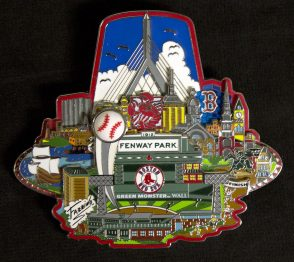 Boston Red Sox Pin LR
