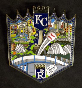 KC Royals Pin LR
