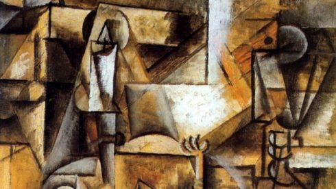 """Picasso's """"Le pigeon aux petits pais"""""""