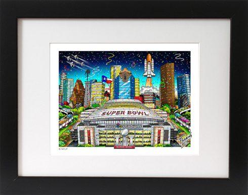 Superbowl LI Mini Print