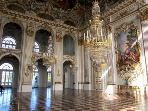 Inside of Munich Castle