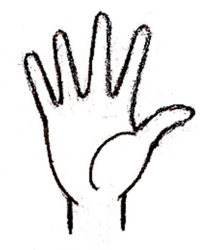 how to draw a hand fazzino how to draw a hand fazzino