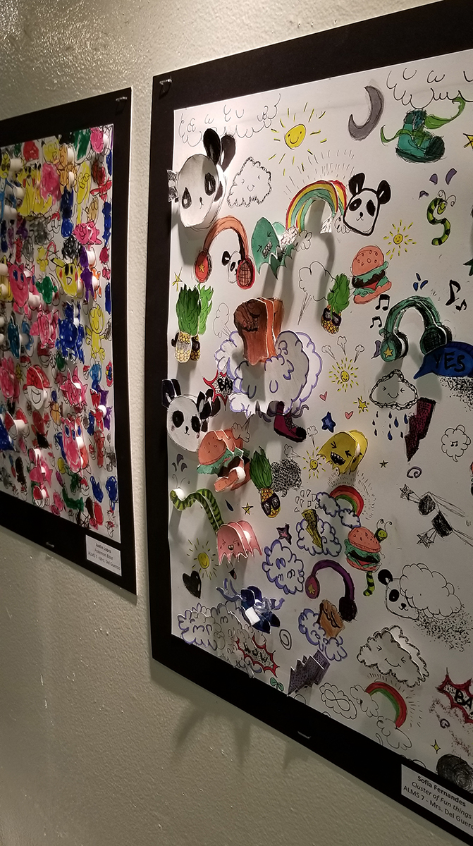 Fazzino inspired 3-D Pop Artwork at the MAC Gallery in New Rochelle