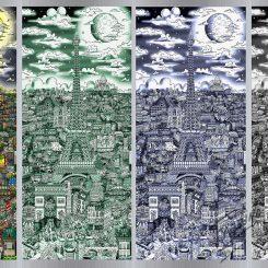 Fazzino Limited Edition Artwork Midnight in Paris