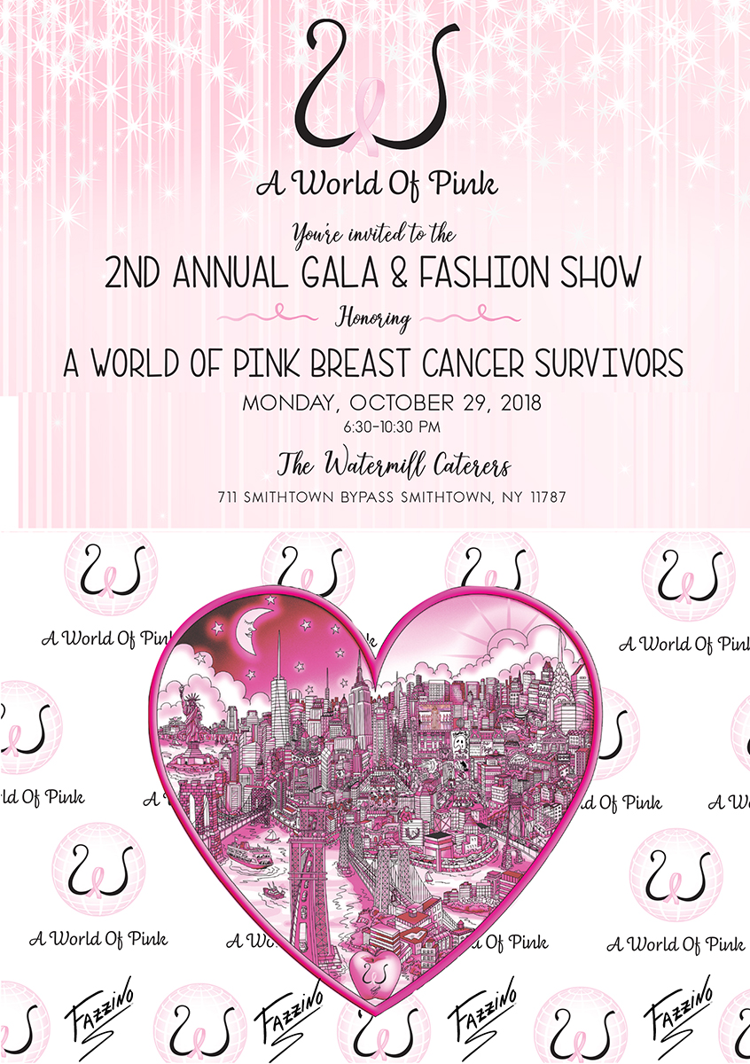 2nd Annual gala and fashion show - world of pink breast cancer survivors