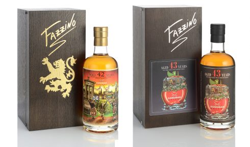 Fazzino and Sansibar collaboration - Limited Edition Fazzino/Sansibar whiskey