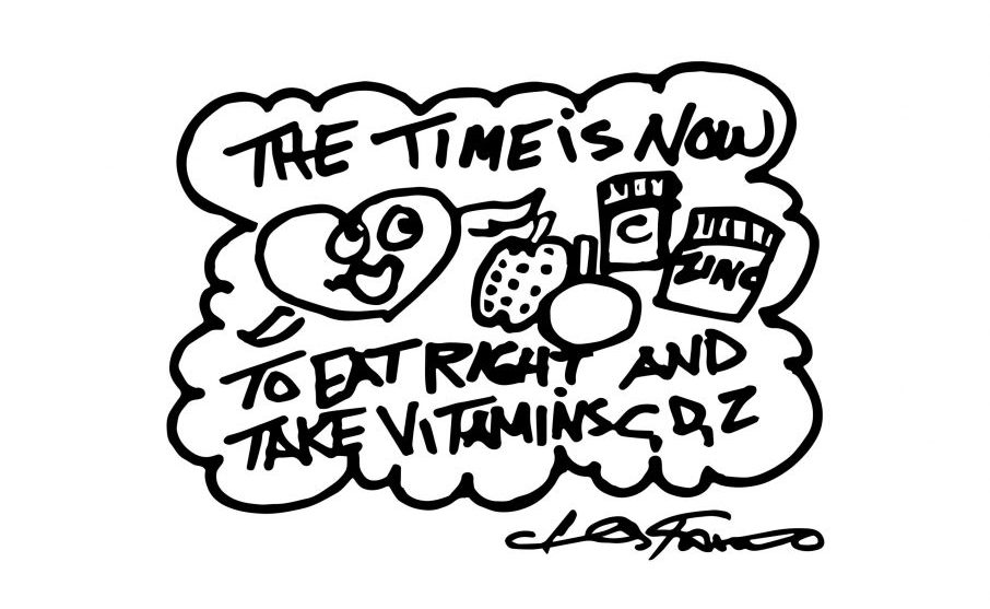 A Fazzino doodle drawing of a heart with time is now text to color in