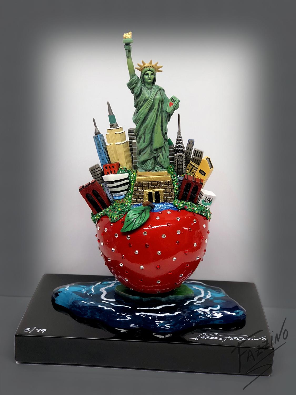 Charles Fazzino's New York Bronze Sculpture